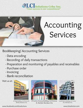A services for accounting at a low rate