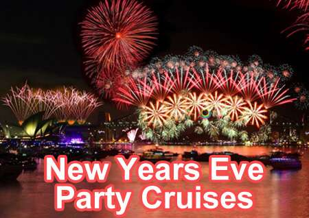 New years eve fireworks cruises sydney harbour