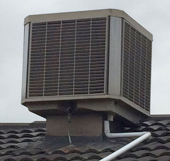 Celair evaporative cooling melbourne