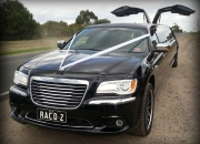 A royal ride with Chrysler limousines