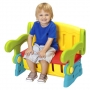 Fisher-Price Sit 'n Munch Storage Bench - Children's Play Equipment - Converts from Activi