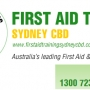 First Aid CPR Training Sydney at CBD College
