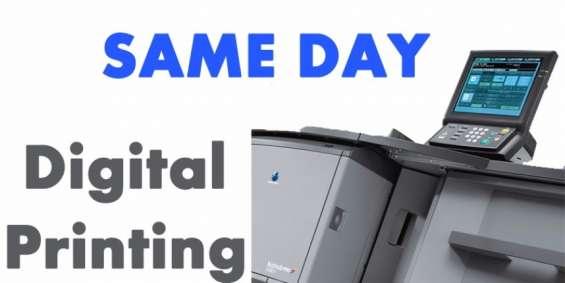 Same day printing melbourne