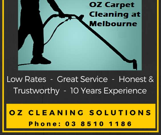 Oz cleaning professional melbourne carpet cleaning