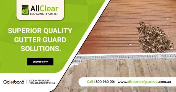 Cost effective gutter guard solution in victoria