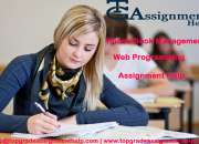 Web Programming Assignment Help | 15 % off | TGAH