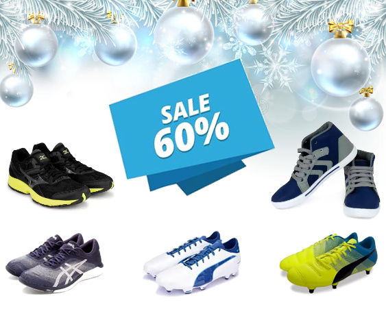 Find cool sports shoes at 73% discount