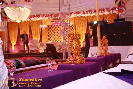 Wedding management company in lahore, event planner & designer in pakistan