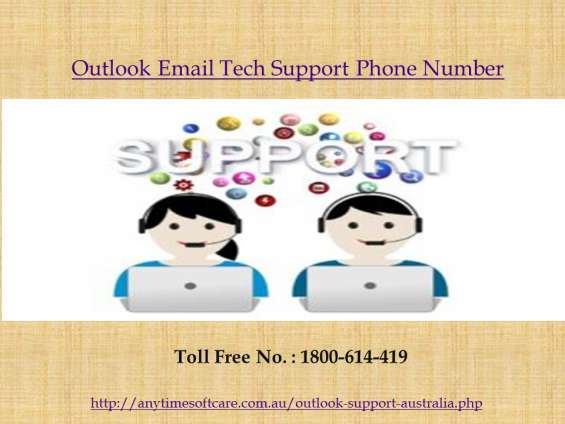Outlook email tech support phone number at 1-800- 614-419| services in australia