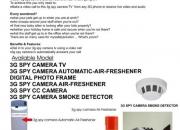 Hidden 3G TV Camera