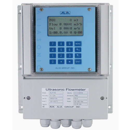 Alia ultrasonic flowmeter-fixed mounted,auf750 series