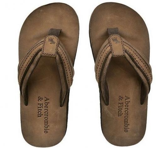 Abercrombie & fitch af mens slipper sz s, m , l
