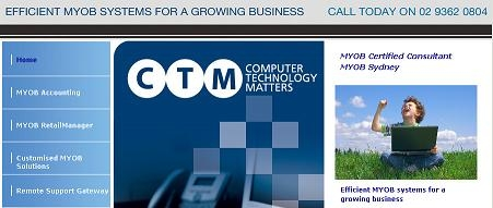 Myob certified consultant - computer technology matters