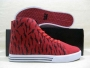 Supra Thunder Hightop Greco Red Deathwish Sneakers
