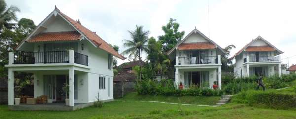 Ubud vacation the white villas for rent