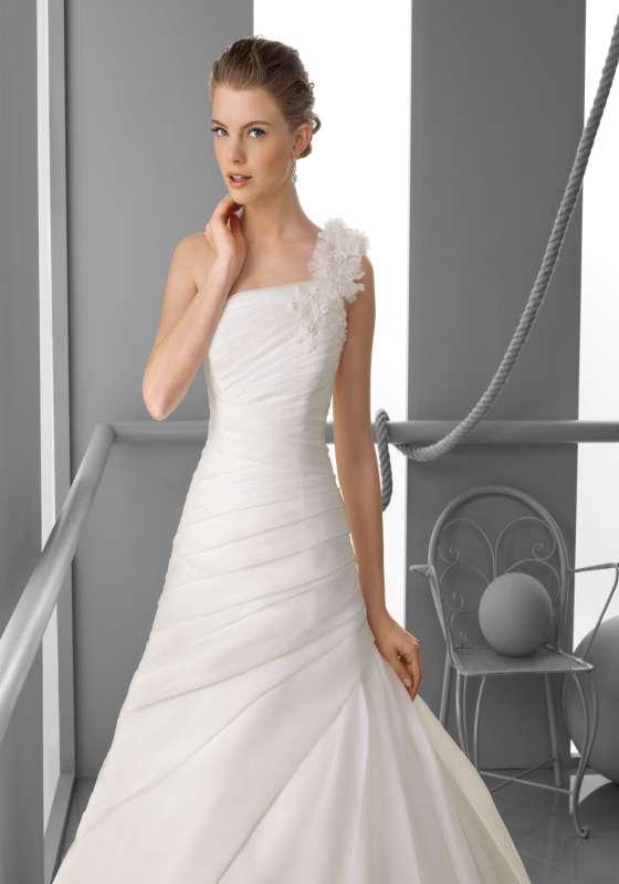Satin wedding dress,bridesmaid dress
