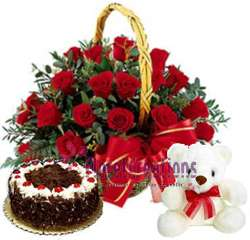 Pictures of Flower delivery in kolkata india, cake delivery in kolkata, send valentine gifts 4