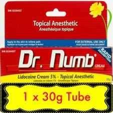 Australian tattoo supplies wholesaler -dr numb tattoo numbing cream