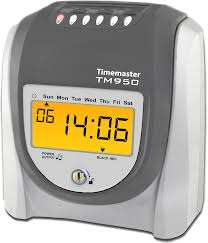 Time clock recorder buddy clock time cards