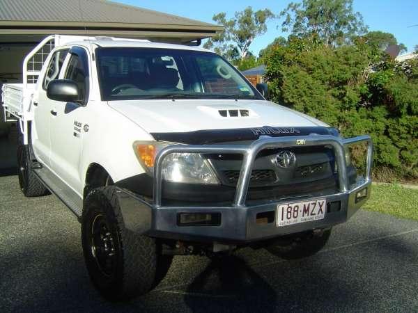 2005 hilux duel cab sr 4ltr turbo diesel: