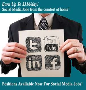 Positions available now for social media jobs!