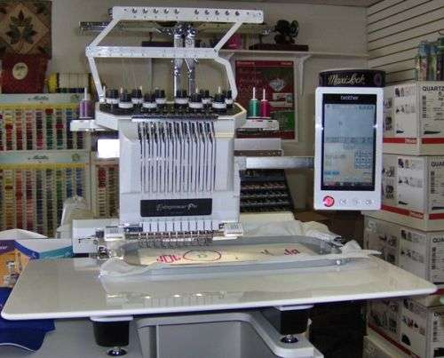 For sale : brother pr-1000e embroidery machine