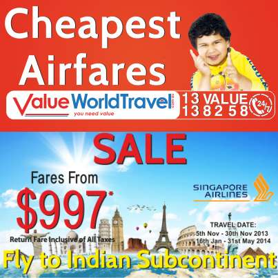 Get best deals on domestic and international flights at value world travel