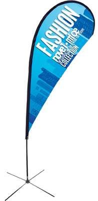 Tear drop flags | teardrop banners in melbourne