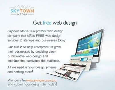 Free web design - skytown media - professional web designers