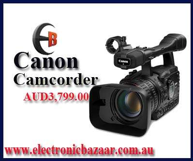 Canon xh-a1s 3ccd hdv pal camcorder