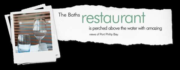 Be nourished by stunning views and piquant meals at middle brighton baths