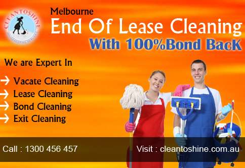 End of lease cleaning services in melbourne with 100% bond back