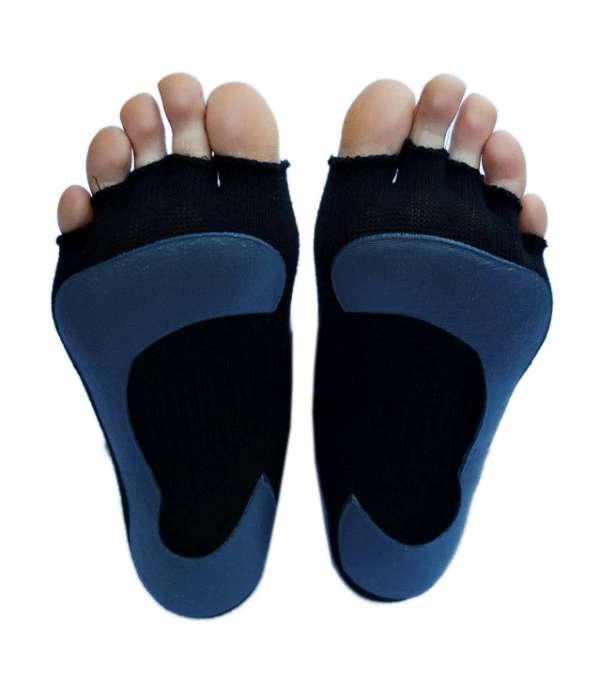 Pilates toeless yoga socks in australia