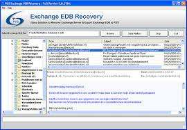 Exchange edb to pst recovery software