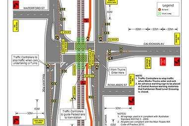 Traffic plans , traffic control plans | first traffic management