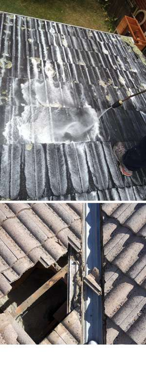 Roof restoration, maintenance & repairs