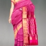 online shopping Party pink kanchipuram silk pattu zari work saree   from Unnatisilk