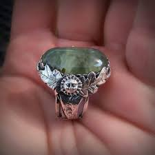 Good luck magic ring and christos