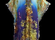 Royalty Blue Designer Kaftan - For Sale