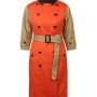 Sandwich Belted Trench Coat