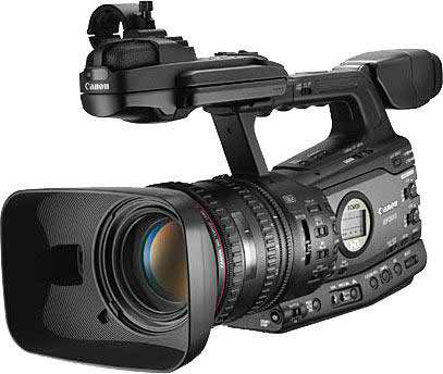 Canon xf300 video with high defination camcorder