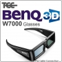 3D Glasses to suit Benq W7000 Projector- B