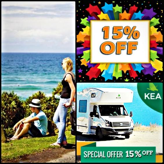 Kea yahoo campervan travel offer