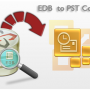 EDB file to PST Converter