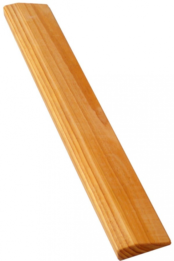 Wooden slanting plank - solid, smooth and durable to meet the requirements of a lifetime of practice.
