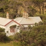 White cottages in capse schanck light house accommodation