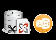 Convert exchange edb file to pst