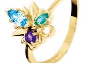 Multi Colour Flower Ring