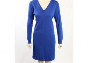 Ralph lauren -size m- blue merino wool dress