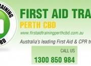 CPR First Aid Certificate in Perth at CBD College